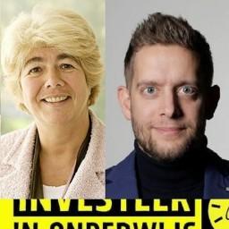 Afleveringplaatje van #3 - Lerarentekort met Barbara de Kort en Jan van de Ven