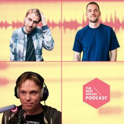 Afleveringplaatje van The Best Social Podcast #32 - Bram de Wijs & Matijn Nijhuis