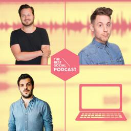 Afleveringplaatje van The Best Social Podcast #16 - Webcare verhalen
