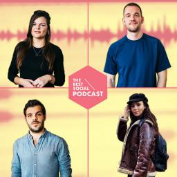 Afleveringplaatje van The Best Social Podcast #15 - Gwen van Poorten