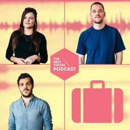 Afleveringplaatje van The Best Social Podcast #14 - Social Media op vakantie