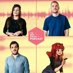 Afleveringplaatje van The Best Social Podcast #10 - Laura Brouwers (Cyarin)