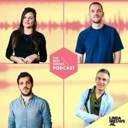 Afleveringplaatje van The Best Social Podcast #2 - Merijn Henfling, chef LINDAnieuws