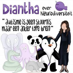 Afleveringplaatje van S01E08 Diantha: 'Autisme is geen stoornis, maar een ander type brein'