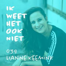 Afleveringplaatje van 039 Bijna Niks Moeten (met Lianne Keemink)