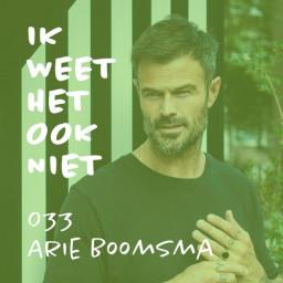 Afleveringplaatje van 033 Fit zijn (met Arie Boomsma)