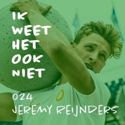 Afleveringplaatje van 024 De beste crossfitter van Nederland (met Jeremy Reijnders)