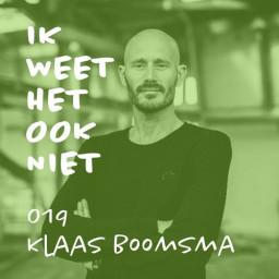 Afleveringplaatje van 019 Verslaving en schrijven (met Klaas Boomsma)