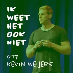 Afleveringplaatje van 017 Kevin interviewt Jelmer (met Kevin Weijers dus)