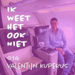 Afleveringplaatje van 014 Gratis First Class vliegen (met Valentijn Kuperus)