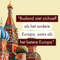 Afleveringplaatje van Rusland door de ogen van Rusland | Professor Evert van der Zweerde