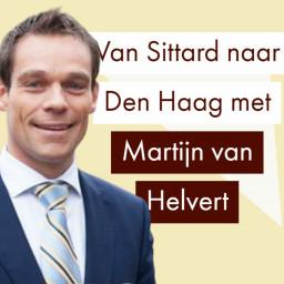 Afleveringplaatje van Tweede Kamerlid Martijn van Helvert over de CDA en politieke betrekkingen