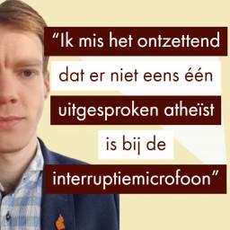 Afleveringplaatje van De Atheïstisch Seculiere Partij | Religiecriticus Max Waterman