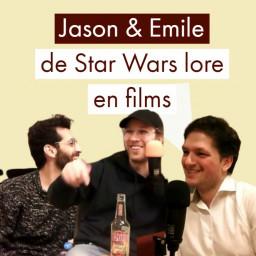 Afleveringplaatje van De Star Wars lore en films   Jason en Emile