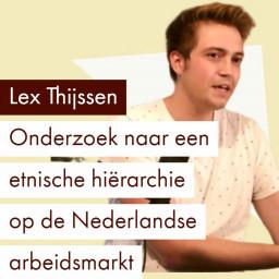 Afleveringplaatje van Etnische discriminatie op de arbeidsmarkt   Lex Thijssen