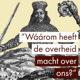 Afleveringplaatje van Thomas Hobbes' Leviathan en John Locke (Rechtsfilosoof Ronald Tinnevelt)