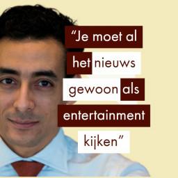 Afleveringplaatje van Backme en onafhankelijke journalistiek (Saltmines oprichter Ahmed Aarad)