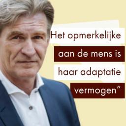 Afleveringplaatje van Bob de Wit's strategie voor een nieuwe maatschappij (Nyenrode Universiteit)