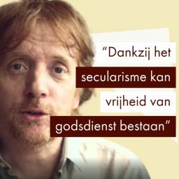 Afleveringplaatje van Eddy Terstall over VrijLinks (secularisme en indivdualisme)