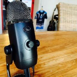 Afleveringplaatje van Blue Yeti X Audio Test
