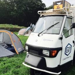 Afleveringplaatje van Gamersnet Podcast #115 | Mooie camping nu naar het hotel!