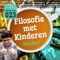 Afleveringplaatje van Aflevering 23: Filosofie Met Kinderen - Met Max!