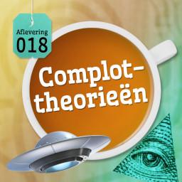 Afleveringplaatje van Aflevering 18: Complottheorieën