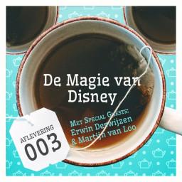 Afleveringplaatje van Aflevering 3: De Magie van Disney, met Erwin Deswijzen en Martijn van Loo
