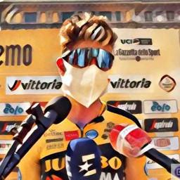 Afleveringplaatje van Milaan - San Remo 2020: Wout van Aert pakt de dubbel