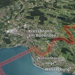 Afleveringplaatje van Kressbronn am Bodensee