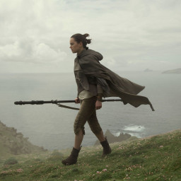 Afleveringplaatje van Star Wars VIII prep (is Rey echt de dochter van....)