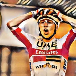 Afleveringplaatje van Etappe 9: Pogaçar wint de rit, Rogliç in het geel