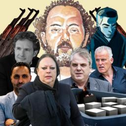 Afleveringplaatje van Ridouan Taghi en het Marengo-proces (misdaadverslaggever Yelle Tieleman)