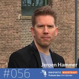 Afleveringplaatje van #056 Jeroen Hammer, Q Lab Politie - Hoe zorg je voor innovatietijd wanneer je wordt geleefd door de waan van de dag?