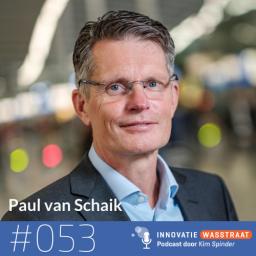Afleveringplaatje van #053 Paul van Schaik, NS en FTE Groep - Wij is belangrijker dan Why
