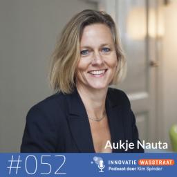 Afleveringplaatje van #052 Aukje Nauta, bijzonder hoogleraar universiteit Leiden, bureau Factor Vijf - Waarom moeten we schaamteloos werken en leven?