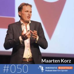 Afleveringplaatje van #050 Maarten Korz, voormalig innovatiemanager Rabobank - Hoe krijg je een olietanker in beweging?