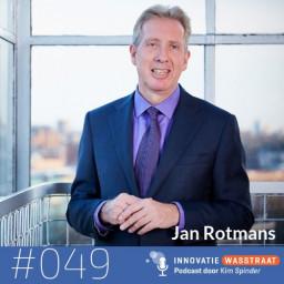 Afleveringplaatje van #049 Jan Rotmans, hoogleraar transitiekunde - Accepteer de traagheid van transities, het komt goed!