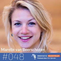 Afleveringplaatje van #048 Marelle van Beerschoten, Digital Shapers - Waarom Nederland de boot gaat missen met artificial intelligence