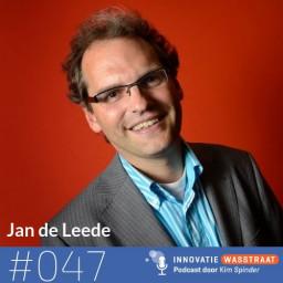 Afleveringplaatje van #047 Jan de Leede, Universiteit Twente - Waarom we nu moeten gaan experimenteren met de zesurige werkdag