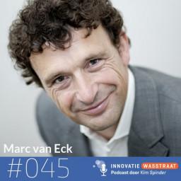 Afleveringplaatje van #045 Marc van Eck - Waarom we bij plannen maken wat vaker 'kiespijn' moeten hebben