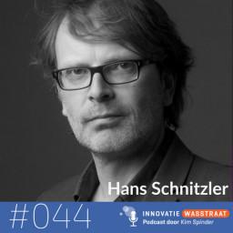 Afleveringplaatje van #044 Hans Schnitzler - Weten waar je je aandacht aan moet besteden, bepaalt hoe effectief je bent, nu meer dan ooit!