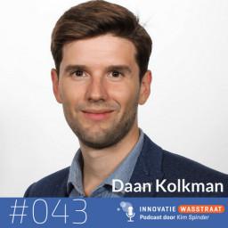 Afleveringplaatje van #043 Daan Kolkman - Is data de nieuwe olie of is het de zoveelste hype?