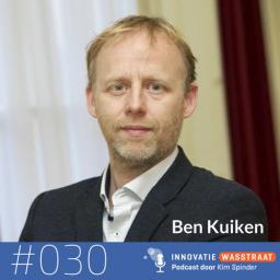 Afleveringplaatje van #030 Ben Kuiken, filosoof en journalist - Waarom organiseren een werkwoord is