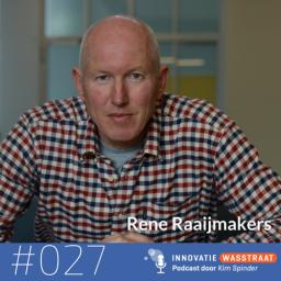 Afleveringplaatje van #027 René Raaijmakers, Techwatch - Wat jij kunt leren van de turbulente jeugd van ASML