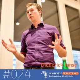 Afleveringplaatje van #024 Diederick Janse, Energized.org - Waarom de Holacracy methode kan helpen bij zelforganisatie