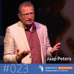 Afleveringplaatje van #023 Jaap Peters, Organisatieadviseur Rijnlands organiseren - Autonomie maakt je wel gelukkiger, maar het is niet altijd makkelijker