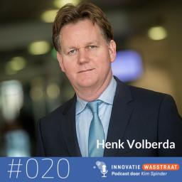 Afleveringplaatje van #020 Henk Volberda, Rotterdam School of Management - Als je nog niet met innovatie bezig bent, kun je het wel vergeten