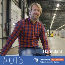 Afleveringplaatje van #016 Harm Jans, Bol.com - Hoe een holacracy pilot Bol.com transformeerde in autonome Sparkteams