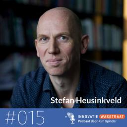 Afleveringplaatje van #015 Stefan Heusinkveld, Vrije Universiteit Amsterdam - Hoe kunnen managementboeken zo populair zijn, terwijl het wetenschappelijk flauwekul is?